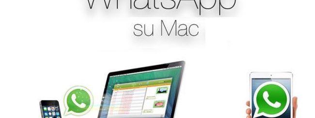 WhatsApp, è ufficiale: ora c'è l'app per Mac OS X e Windows