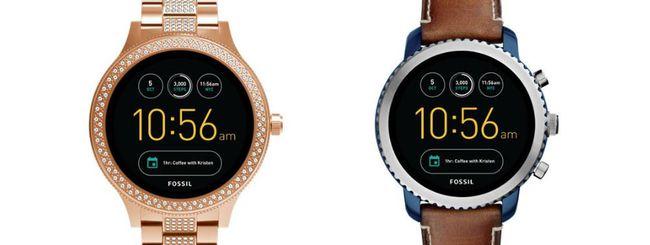 Q Venture e Q Explorist, nuovi smartwatch Fossil
