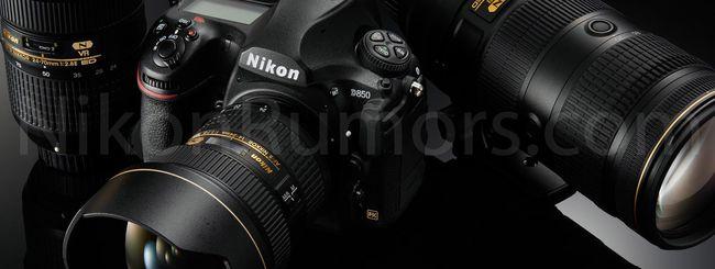 Nikon D850: tutto pronto per l'annuncio