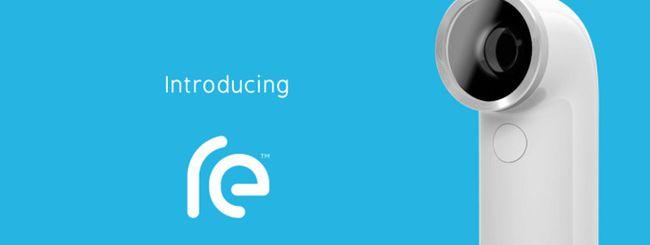 HTC RE, annunciata l'action camera per smartphone