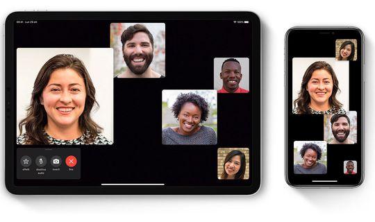 Effettuare videochiamate FaceTime di gruppo