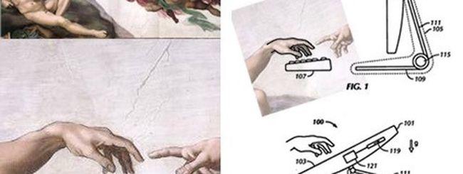 Apple, il touchscreen alla Michelangelo