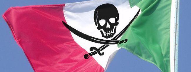 L'Italia sul libro nero della pirateria