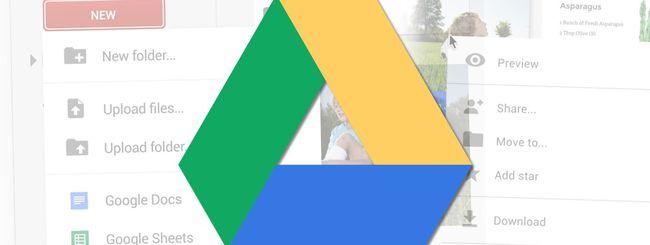 Google Drive su Android: restyling e lettore PDF