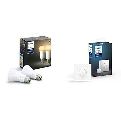 Philips Hue White Ambiance, 2 Lampadine LED Smart