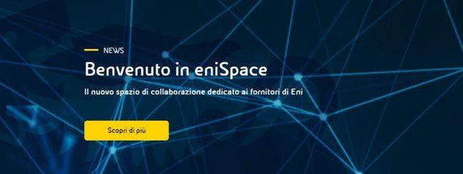 Eni lancia eniSpace, la piattaforma dedicata ai fornitori