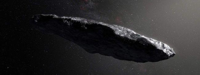 Oumuamua è un'astronave Aliena? Non per tutti