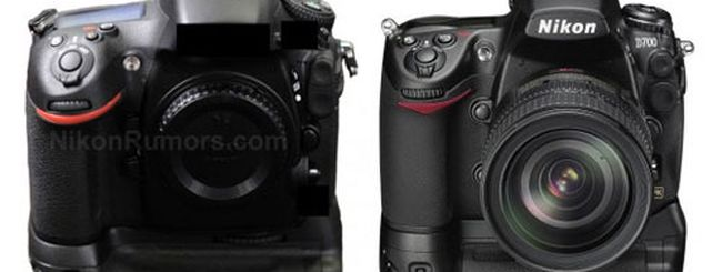 Nikon D800 e Nikon D700 a confronto in base ai rumor