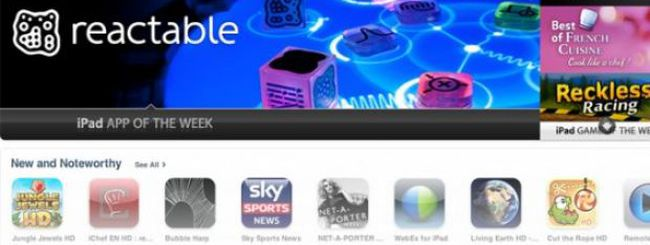 Un mese di successo dell'app Reactable mobile