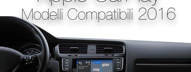 Apple CarPlay, la lista ufficiale 2016 delle auto compatibili