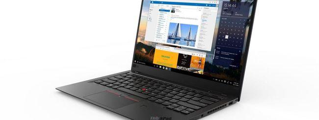 CES 2018: Lenovo ThinkPad X1 Carbon, Yoga e Tablet
