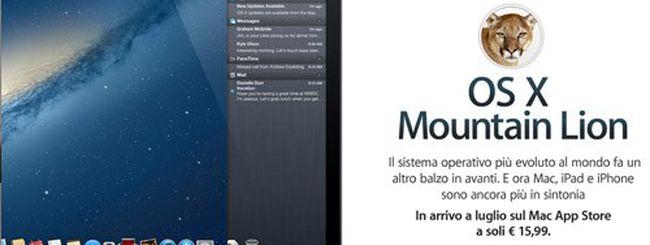 Guida: preparare il Mac per OS X Mountain Lion