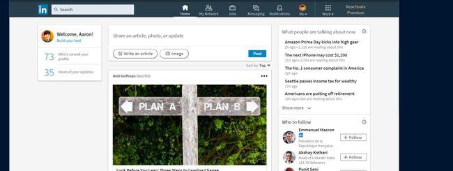 Microsoft rilascia l'app LinkedIn per Windows 10