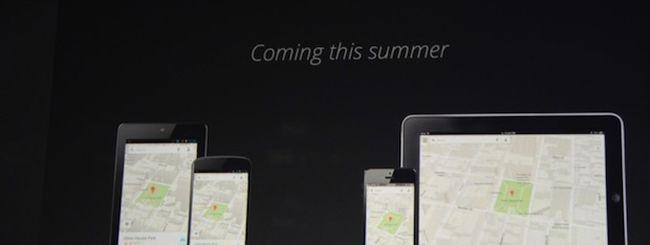 Google Maps, in arrivo parecchie novità e un'app per iPad