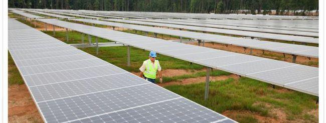 Ecco gli impianti fotovoltaici di Apple in North Carolina