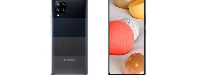 Galaxy A42 5G, lo smartphone 5G economico di Samsung