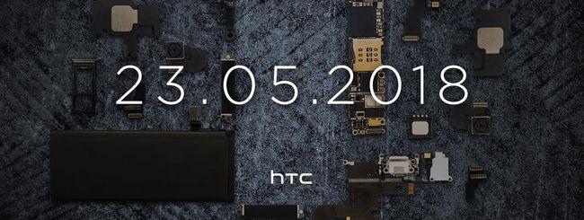 HTC U12+, annuncio previsto per il 23 maggio