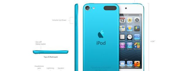 Live Apple 2012: il nuovo iPod touch 5G
