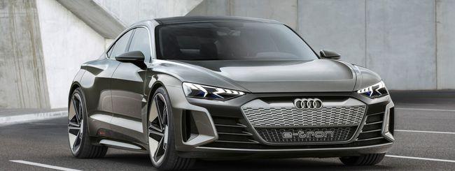 Audi e-tron GT, l'elettrica sportiva