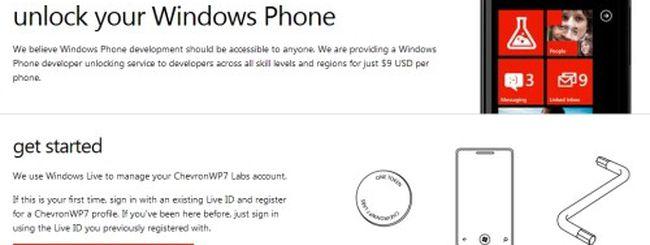 ChevronWP7: jailbreak ufficiale per Windows Phone