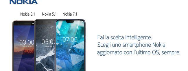 HMD Global consiglia gli smartphone Nokia