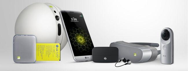 LG G5 in Italia da metà aprile a 699,99 euro