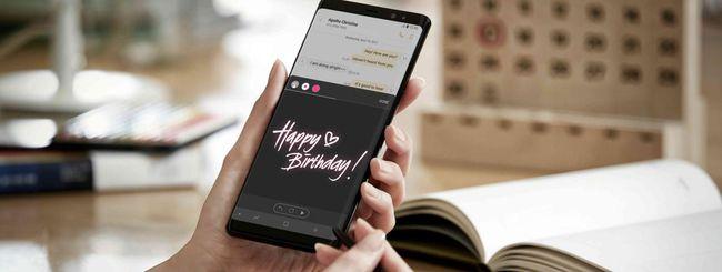Samsung Galaxy Note 9, annuncio il 9 agosto?