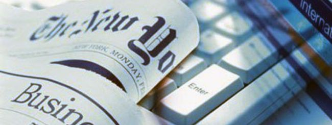 Giornalismo: i bit rendono più della carta