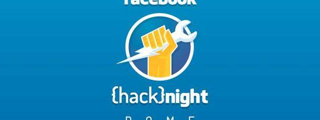 Facebook hacknight a Roma