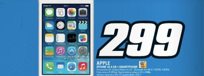 Volantino Saturn, Apple iPhone 4S a 299 euro