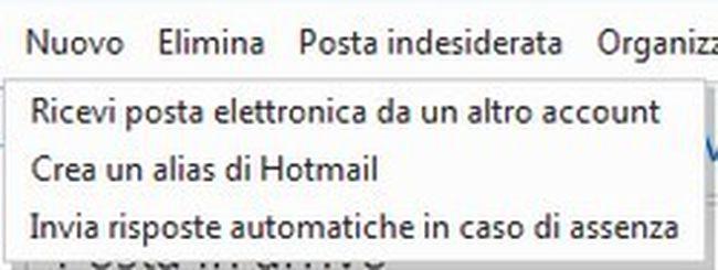 Hotmail aggiunge gli alias email