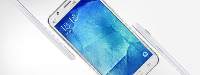 Samsung annuncia i nuovi Galaxy J5 e Galaxy J7