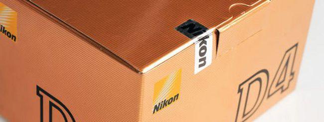 Nikon D4, unboxing in video e immagini