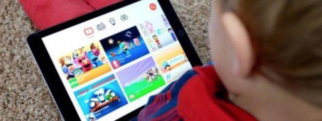 YouTube Kids su web e filtro fascia prescolare
