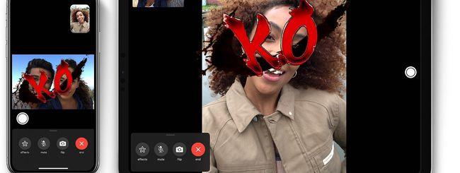 iOS e iPadOS 13.4.1: risolto il bug di FaceTime