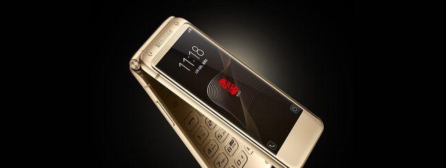 Samsung W2018, flip phone con Snapdragon 835?