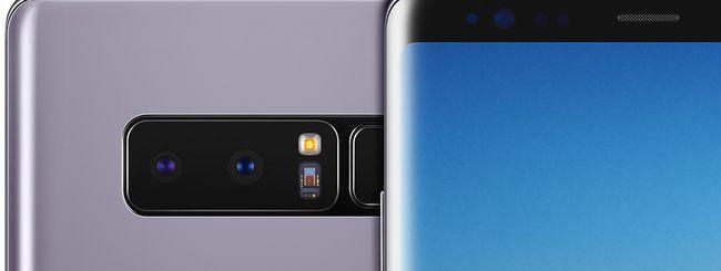 Samsung Galaxy Note 8, prima beta di Android 9 Pie