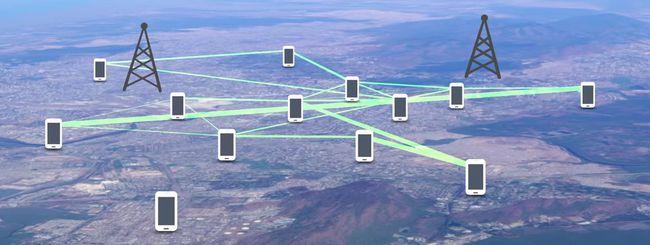 IBM crea una rete mesh wireless tra smartphone