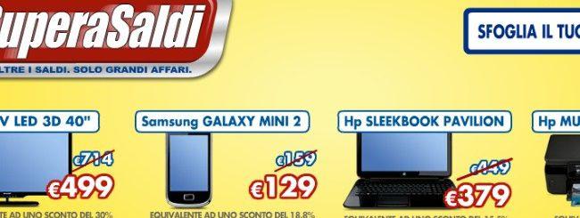 Saldi Euronics: Samsung Galaxy S2 a 379 euro
