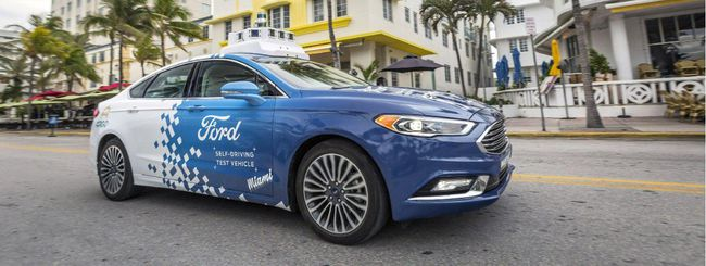 Ford: Autonomous Vehicles per la guida autonoma