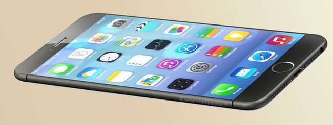 iPhone 6: il rendering realistico