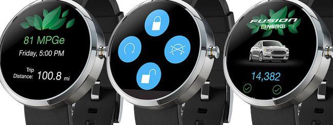 Ford lancia l'applicazione MyFord per Android Wear