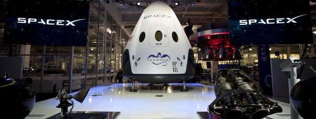 SpaceX rimanda al 2018 il volo con equipaggio