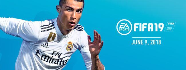 FIFA 19 è ufficiale (con CR7 al Real Madrid)