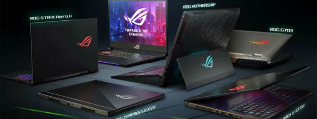 ASUS, nuovi notebook gaming ROG al CES 2019