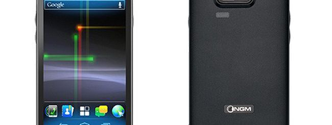 NGM WeMove Legend, nuovo Android 4.0 ICS dual SIM