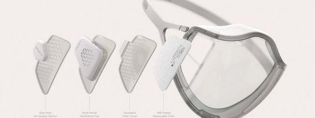 Nuova mascherina smart in arrivo: si disinfetta via USB