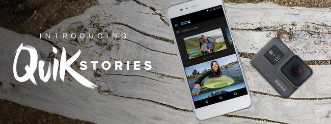 GoPro QuikStories, montaggio video automatico