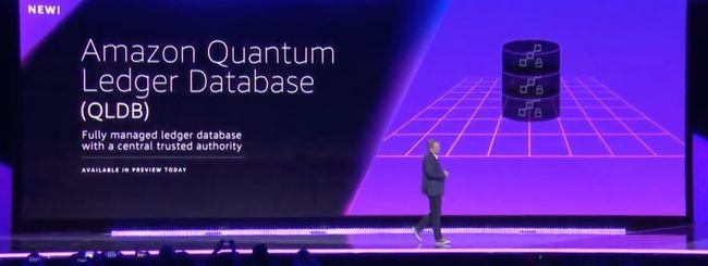 Amazon Quantum Ledger Database è disponibile