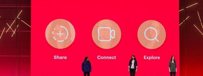Facebook F8: effetti AR e video chat per Instagram